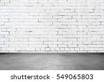brick wall interior | Shutterstock . vector #549065803