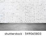 brick wall interior | Shutterstock . vector #549065803