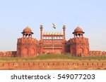 red fort delhi | Shutterstock . vector #549077203
