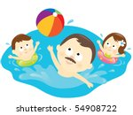 jpeg active family lifestyle | Shutterstock . vector #54908722