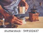 Method Of Moka Pot Coffee Make...