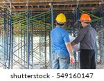 project architects and... | Shutterstock . vector #549160147