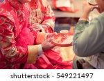 chinese wedding culture in new... | Shutterstock . vector #549221497