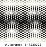 abstract geometric black and... | Shutterstock .eps vector #549230323