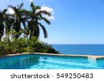 holiday dreams in the caribbean | Shutterstock . vector #549250483