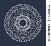 abstract circle mandala vector | Shutterstock .eps vector #549250603