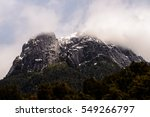 Small photo of Beautiful landscape of the Vicente Perez Rosales National Park, Sector Puella, Chile, South America