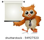 Owl Lecture   Vector