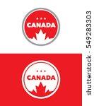 vector canada emblem set | Shutterstock .eps vector #549283303