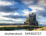 Whitby Abbey  Evening Light