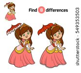 find differences  education... | Shutterstock .eps vector #549353503