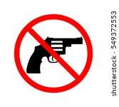 no guns  weapons sign.