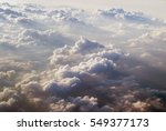 View Of Clouds From Plane In...