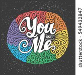 you and me lgbt card   ...