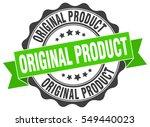 original product. stamp....   Shutterstock .eps vector #549440023