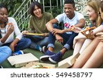 people friendship togetherness... | Shutterstock . vector #549458797