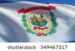 west virginia  u.s. state  flag ... | Shutterstock . vector #549467317