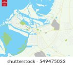 vector color map of abu dhabi ... | Shutterstock .eps vector #549475033