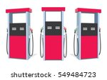 fuel pump. petrol station. gas... | Shutterstock .eps vector #549484723