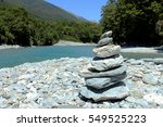 Stack Of Rocks By Blue Pools ...
