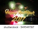 happy new 2017 year. seasons... | Shutterstock . vector #549549787