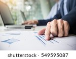 team work process. young...   Shutterstock . vector #549595087
