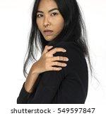 studio people shoot portrait... | Shutterstock . vector #549597847
