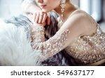 beautiful bridal | Shutterstock . vector #549637177