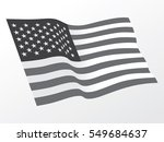 usa flag vector | Shutterstock .eps vector #549684637