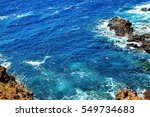beautiful view from the cliff... | Shutterstock . vector #549734683