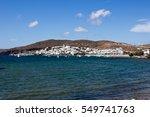 Small photo of Milos - Adamas panorama view, Cyclades islands