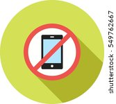 no cell phones | Shutterstock .eps vector #549762667