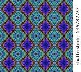 abstract geometric seamless... | Shutterstock . vector #549782767