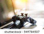 Video Game Controller Isolated...