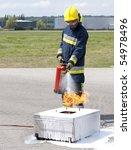 Firefighter Using Fire...