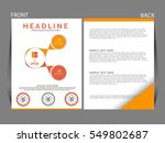 vector business infographics... | Shutterstock .eps vector #549802687
