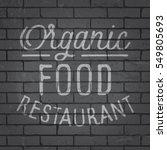 hand drawn lettering slogan on...   Shutterstock .eps vector #549805693