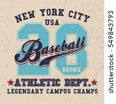 Vintage Sport Wear New York T...