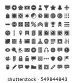 big icon web set   Shutterstock .eps vector #549844843