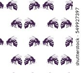vector seamless pattern with... | Shutterstock .eps vector #549927397