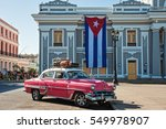 cienfuegos  cuba  jan 1  2017 ... | Shutterstock . vector #549978907