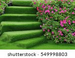 Staircase Green Artificial...