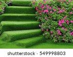 Staircase Green Artificial...