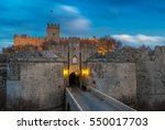 the d' amboise gate is a grand... | Shutterstock . vector #550017703
