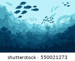 Coral Reef And Sea Creatures ...