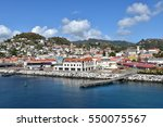 st george's cruise port ... | Shutterstock . vector #550075567