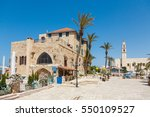 jaffa  tel aviv   israel  april ... | Shutterstock . vector #550109527