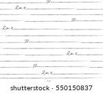 love pattern designed for cards ... | Shutterstock .eps vector #550150837