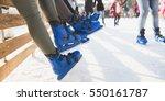 close up shot of unrecognizable ... | Shutterstock . vector #550161787