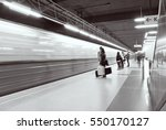 Motion Blurred Subway Train....